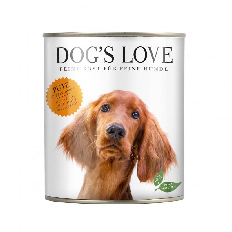 Dog's Love Umido Vegetale per cani 400 gr