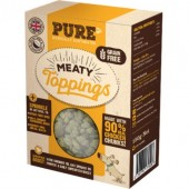 pure petfood meaty toppings