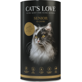 cat's love crocchette senior cat gatto