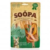 Soopa Papaya raw snack cane