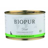 biopur epatico umido biologico per cane