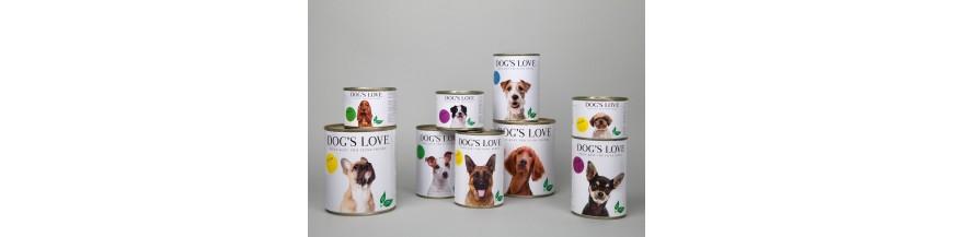 Dog's Love alimenti biologici umidi crocchette cane www.patatino.it