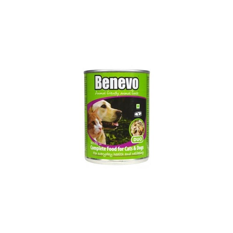 Benevo Duo cani e gatti Umido Completo Vegan