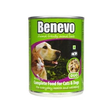 Benevo Umido Duo Completo Vegan per Cani e Gatti 400 gr