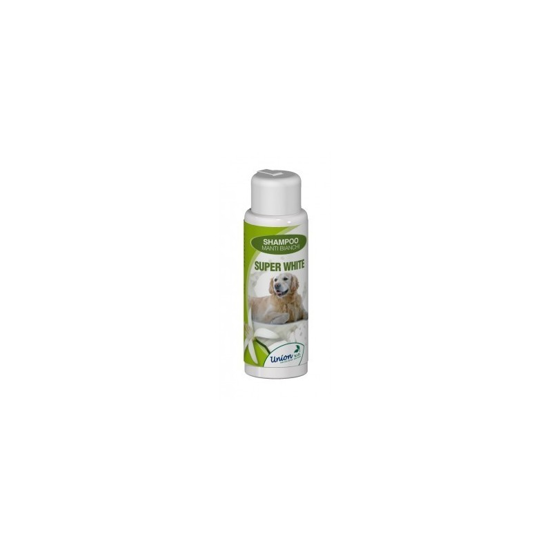 Super White Shampoo Sbiancante Cane