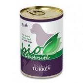 Biogustosità Tacchino Bio per cane 400 gr