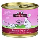 Terra Pura Spring ins Feld mix di erbe per sistema muscolo-scheletrico biologiche per cani e gatti