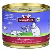 Terra Pura Magenwohl mix di erbe biologiche per stomaco per cani e gatti