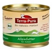 Terra Pura Pollo Biologico con verdure riso ortica per gatto 200 gr*Gluten free*