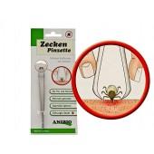 Anibio Tic-Clip medaglietta antiparassitaria per cani e gatti