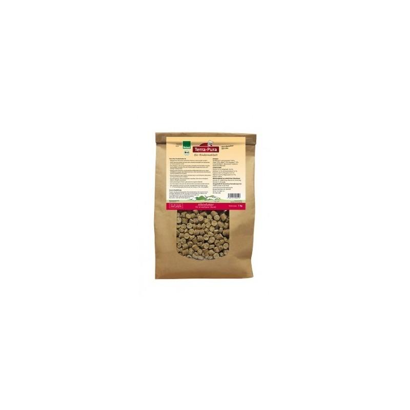 Terra Pura Crocchette Biologiche al Manzo per Cani - 1 kg **GLUTEN FREE**