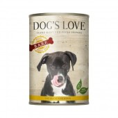 Dog's Love Umido Vegetale per cani 400 gr