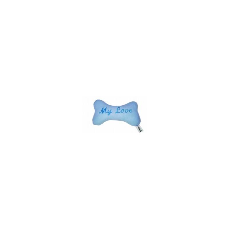 Osso in Spugna Azzurro per cane