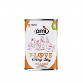 Amì Dog Orange Umido Vegetale per cani 400 gr **SOIA FREE**