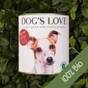 Dog's Love Umido Manzo riso mela zucchina Biologico Gluten Free per cani 200 gr
