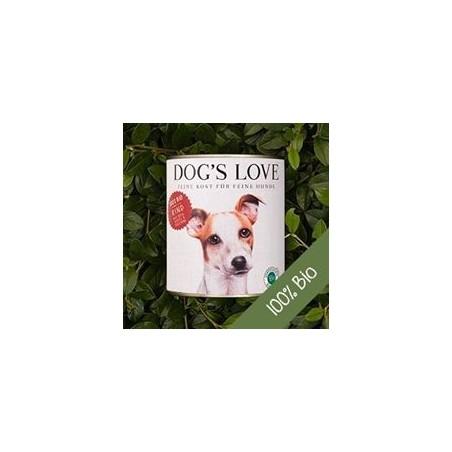 Dog's Love Umido Manzo riso mela zucchina Biologico Gluten Free per cani 400 gr