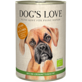 dog's love umido tacchino biologico cane