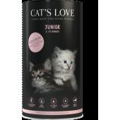 cat's love crocchette biologiche cuccioli gatto