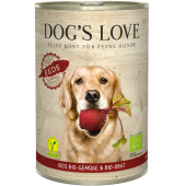Dog's Love Organic Red 400 gr
