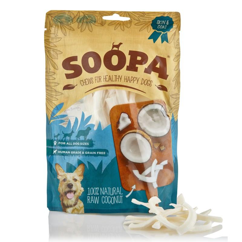 soopa cocco crudo raw per cane