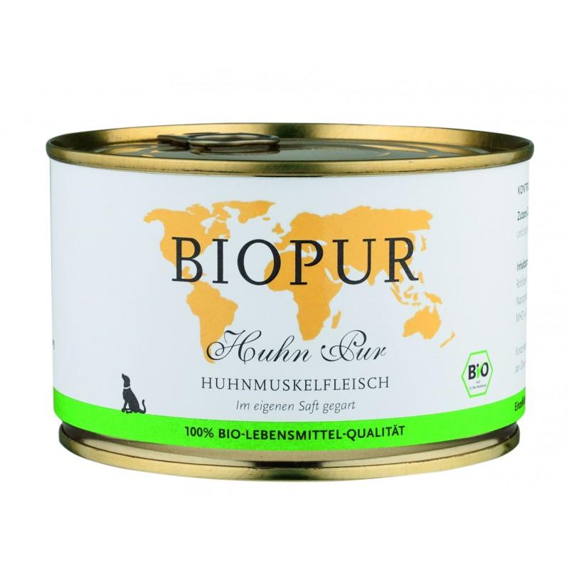 biopur monoproteico al pollo  biologico cane e gatto
