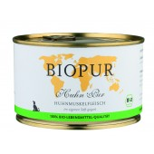 biopur cibo biologico monoproteico pollo cane