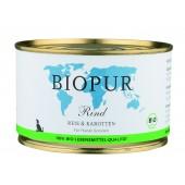 BioPur Senior Manzo Riso...