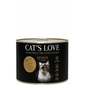 cat's love crocchette anatra senior renal