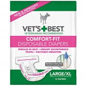 VET'S BEST COMFORT IT DIAPERS