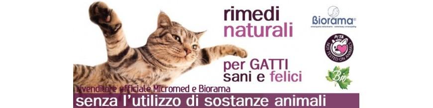 Integratori naturali per gatti